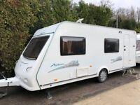 2009 Elddis Xplore 546 6 berth caravan Awning VGC Light to tow !