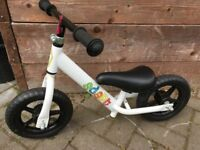 10 inch balance bike £12 collection from Shepshed.