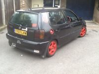 VW polo 1600 unfinished project £275. Ono