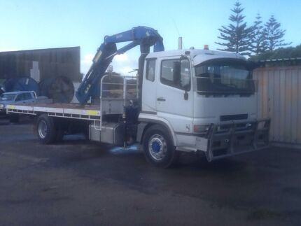 Mitsubishi crane truck Naval Base Kwinana Area Preview