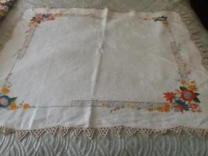 Antique tablecloth. Balcolyn Lake Macquarie Area Preview