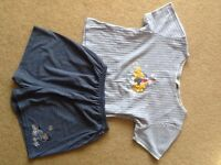 Bhs Winnie the Pooh shorts pyjama set