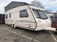 Abbey Spectrum 620 6 birth caravan