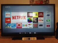 40 inch toshiba smart led tv with wifi