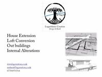 Planning Permission, Architectural Services, House Extension Drawings, Loft Conversion , Floor Plans