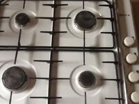 Neff gas hob and oven in white ## reduced ## for quick sale