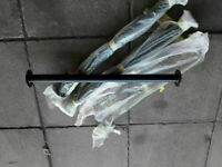 5 x Brand new 50mm Barrier Bollards Posts Lamp Poles Handrail uprights cost £300.00 for sale  Airdrie, North Lanarkshire
