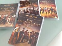 Magnificent 7 DVDs collection
