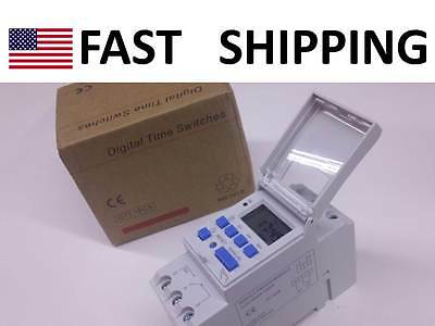 Programmable Timer Ac 220v 240v 16a Relay Switch Industrial Sign Control Digital