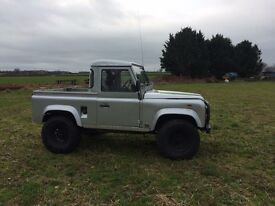 Landrover defender 90 pickup
