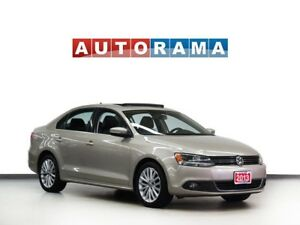 2013 Volkswagen Jetta TDI HIGHLINE NAVIGATION LEATHER SUNROOF AL