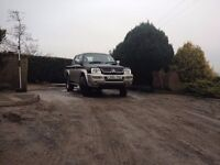 2005 L200 with ifor williams canopy £3100