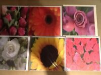280 Flower Greetings Cards