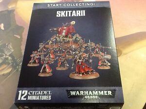 40K Warhammer  Adeptus Mechanicus Skitarii Start Collecting ! NIB