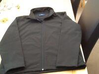 Black Uneek Soft Shell Jacket Large Brand New