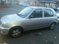 NISSAN MICRA FOR SALE 2001 (OR NEAR OFFER)