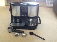 Krups CafePresso Crematic model 874 Filter and expresso coffee machine
