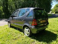 MERCEDES A170 AUTOMATIC DIESEL EXCELLENT ON FUEL HALF LEATHER SPOTLESS THROUGHOUT MOT UNTIL MAY 2018