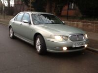 2001 Rover 75 connoisseur long mot service history hpi clear BARGAIN!!!!