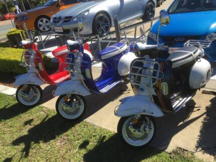 Scooter New Vmoto Ves 125cc Retro LAMS APPROVED Southport Gold Coast City Preview