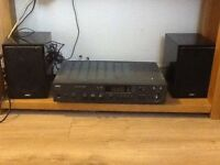 4 AE bookself speakers and a NAD amp