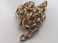 Gold chain 14ct-29 grams