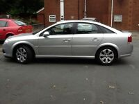 2008 Vauxhall Vectra 1.9 CDTI Exclusive. Diesal. Silver. 6 Speed. MOT May 2017. 70800 miles