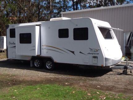 STERLING JAYCO CARAVAN 21ft Medowie Port Stephens Area Preview