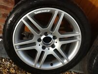 MERCEDES AMG ALLOY WHEELS AND TYRES