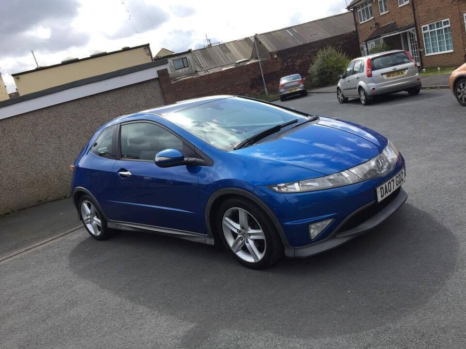 honda civic 2007 s type in bradford west yorkshire gumtree. Black Bedroom Furniture Sets. Home Design Ideas