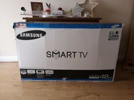 "Samsung 48"" LED smart tv"