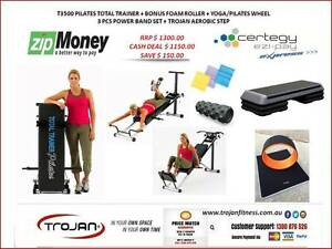 PILATES TOTAL TRAINER PACKAGE STEP YOGA WHEEL BANDS FOAM ROLLER Joondalup Joondalup Area Preview