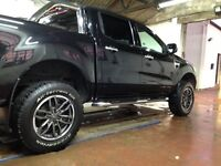 Ford ranger 2 inch lift kit and 18 inch ats alloys with bf Goodrich tyres for sale