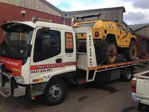 McCallum Towing ( cheap rates from $77 )tow truck tilt tray 24/7