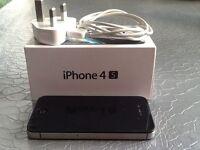 iPhone 4s, Black, 16GB (locked), Vodaphone.