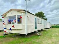 Cheap static caravan for sale , sited in essex , beach access