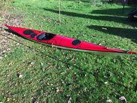 P&H Sirius Fibre Glass Sea Kayak For Sale