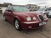 Free Delivery Available - 2001 Jaguar S-Type V6 SE Automatic 3L Petrol,34K miles,FSH - Free Delivery