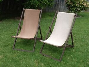 TWO DECK CHAIRS. Asquith Hornsby Area Preview