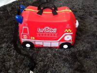 Frank the Fire Truck Ride on Trunki