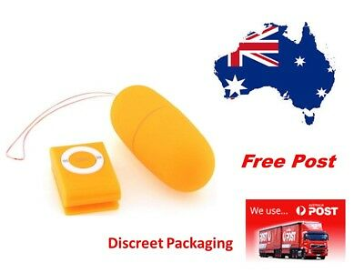 Ipod Style Wireless Remote Control Vibrating Egg Bullet...Fast Post