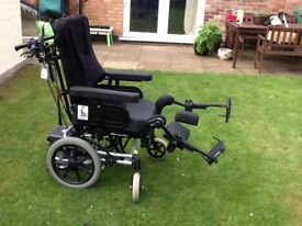 Rea azalea wheelchair with powerpack fitted