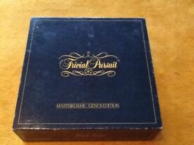 Collection of Classic boxed quiz games inc original Trivial Pursuit and extra card set