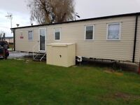 Caravan holiday home for rent