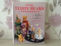 Book on making miniature teddies with clothes