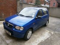 Suzuki Alto, Great Condition, Cheap tax and Insurance