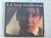 KD Lang Recollection double CD