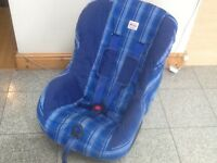 For 9kg upto 18kg(9mths to 4yrs)Britax Eclipse car seat-reclines and is washed and cleaned