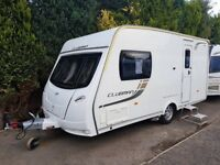 2013 Lunar Clubman CK 2 berth caravan MOTOR MOVER, AWNING LIGHT TO TOW BARGAIN ! January Sale
