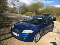 Renault Megan, 1.6 dynamique, Metalic Blue, Mot until November